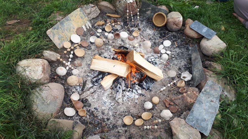 Tonbrennen am Lagerfeuer - Die Göttin in dir